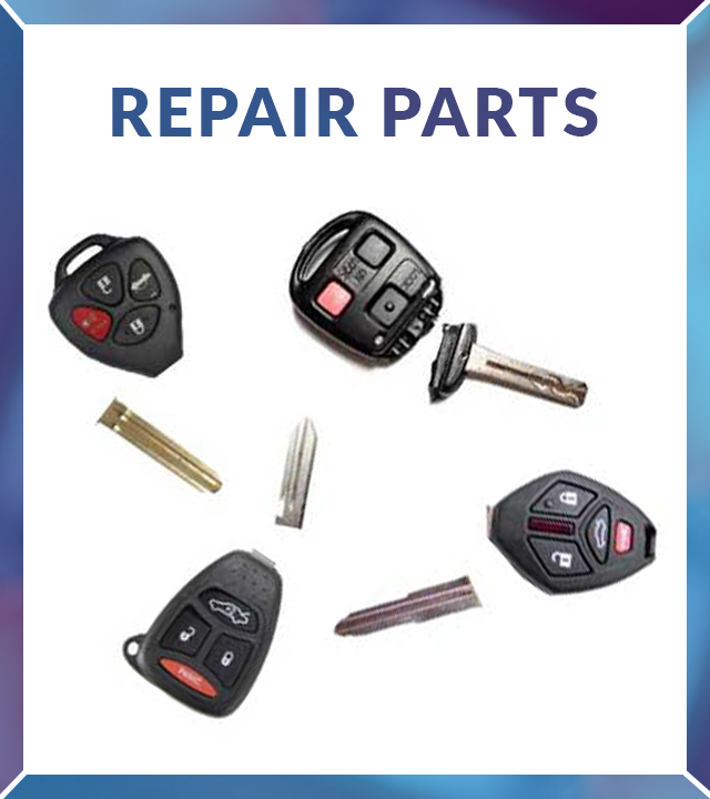 Remote Repair Parts and Accessories